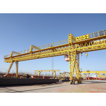 30 ton good service double beam gantry crane