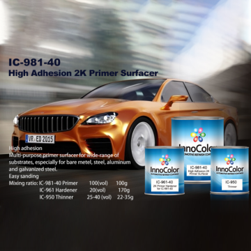 High Adhesion 2K Primer Surfacer Refinish Coating