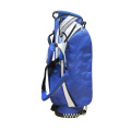 Blue Nylon Golf Stand Bag