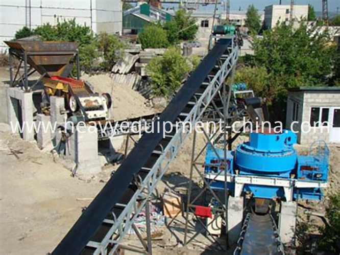 Sand Production Process