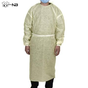 PP Disposable isolation gowns