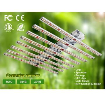 Indoor Vertical Farming Led Grow Lights 640W