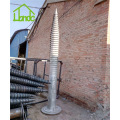 Factory Price  galvanized ground screw anchor