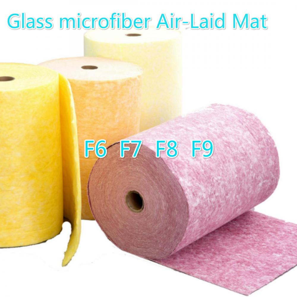 Glass Microfiber Air Laid Mat