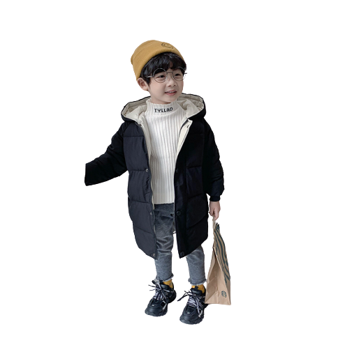 Boys Girls Unisex Hot Selling Winter Thicken Long-sleeved Coat 1