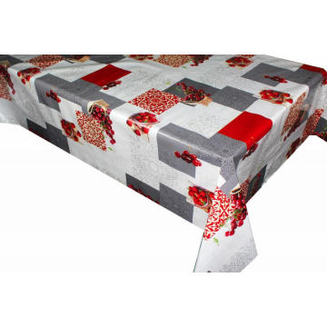 Pvc Printed fitted table covers Table Linens Meaning