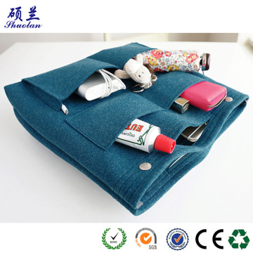 Hot selling felt travel bag organizer