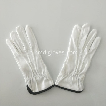 Pegangan kain katun dot palm gloves