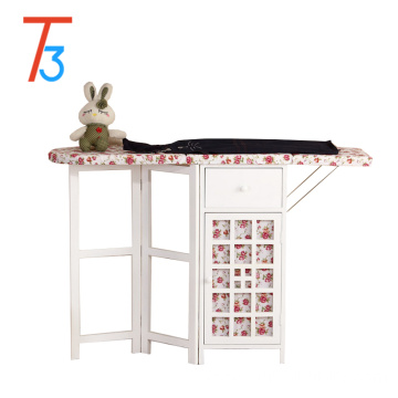professional wood ironing boards antique cabinet folding