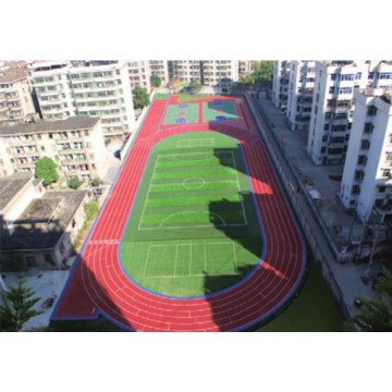 All Weather IAAF Certified Spraying Polyurea SPUA-90 AB Courts Sports Surface Flooring Athletic Running Track