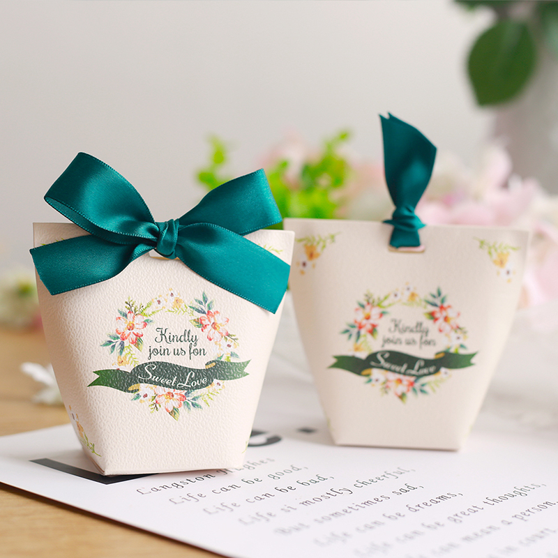 Small candy box for wedding faorvs