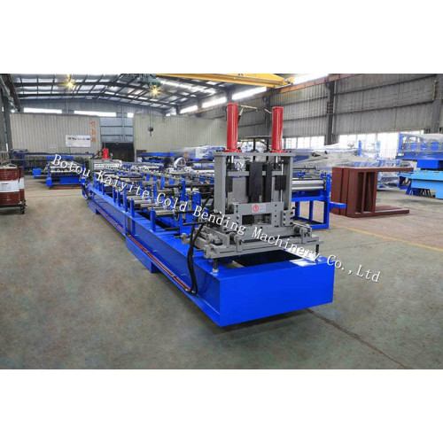 Automatic Interchangeable CZ Channel Roll Forming Machine