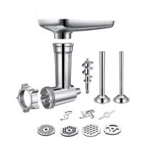 Steel Kitchen Meat Grinders Sausage Stuffer Attachment For Kitchen Aid Stand Mixer Kitchen Appliances Kitchen Dining Bar Parts