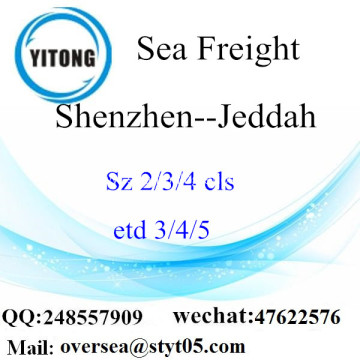 Shenzhen Port LCL Consolidation To Jeddah