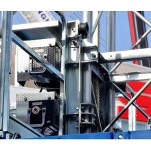 100m height building material handling hoist