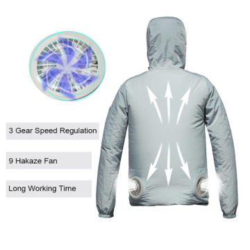 Lightweight Hooded Air Conditioned Fan Cooling Clothes