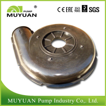 Horizontal Rubber Lined Slurry Pump Liner