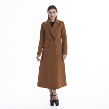 Cashmere coat ladies long style Korean version