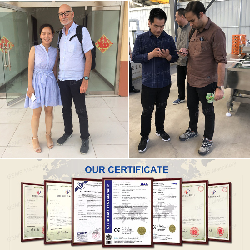 certificate and customer