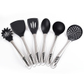 silicone stainless steel utensils cooking tool set