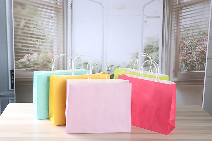 colorful kraft paper bag 4