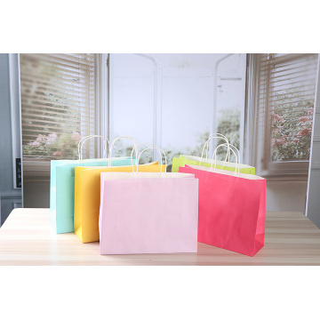 Paper Shopping Bags with Twisted Handle