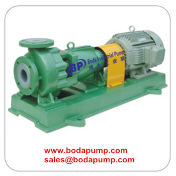 Chemical pump PTFE lined transfer sulfuric acid