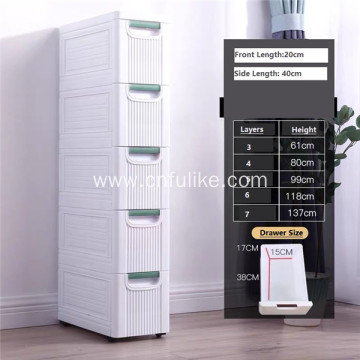 Drawer Waterproof Wardrobe Plastic Cabinet