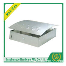 SMB-007SS Factory Hot Selling Good Price Strong Stainless Steel Letter Mailbox