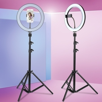 6.3''/10.2'' Camera Studio Ring Light With Stand Video LED Beauty Ring Light Photography Dimmable Ring Lamp+Tripod for Selfie