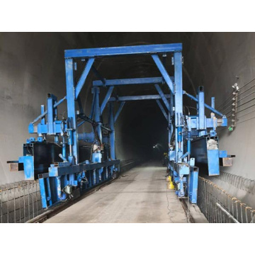 Internal Tunnel Concrete Construction Steel Formwork Trolley