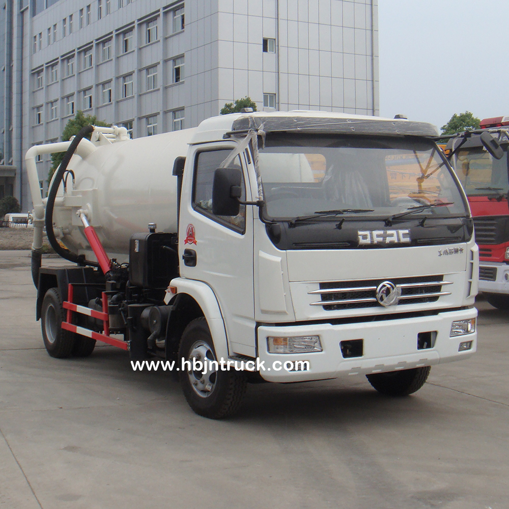 Sewage Removal Truck