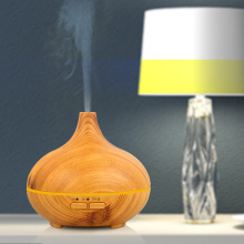Wood Grain Usb Powered Travel Ultrasonic Humidifier