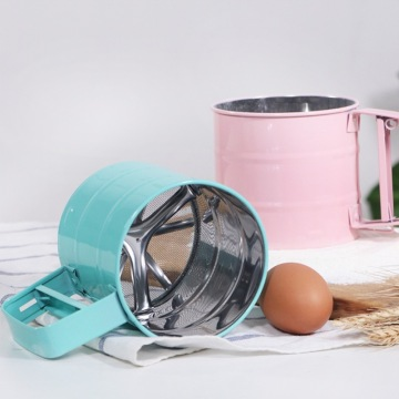Colorized Stainless Steel Flour Sifter