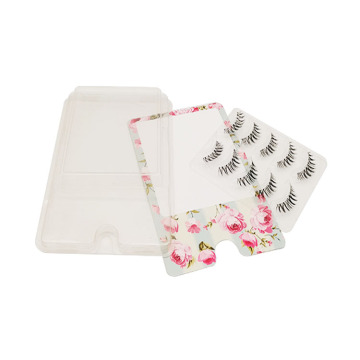 Custom Plastic Clear Eyelash Blister Insert Tray
