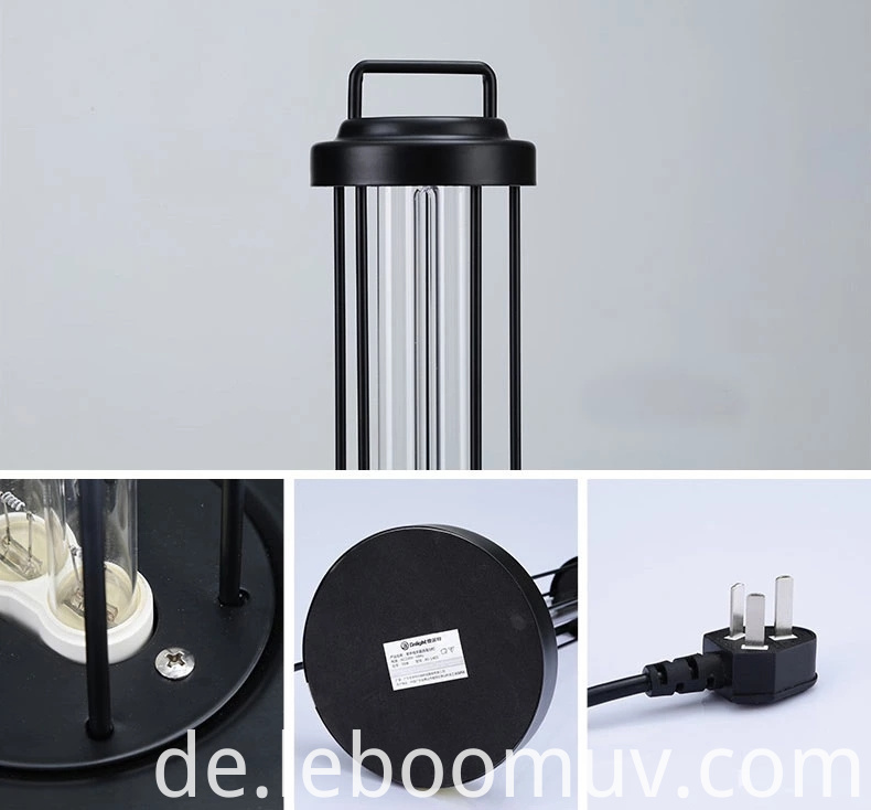 Ultraviolet Disinfection PLL Table Lamp