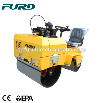 FYL-855 Diesel Vibration Mini Road Roller Compactor for Sale
