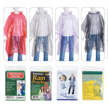 Factory sale disposable LDPE raincoat