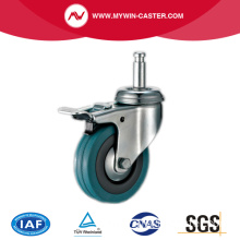 Grip Ring Light Duty Casters with Brake