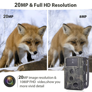 HC802A Hunting Camera VGA 20MP 1080P Photo Traps Night Vision Wildlife infrared Hunting Trail Cameras hunt Chasse scout