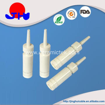 Ceramic nozzle for textile machinery