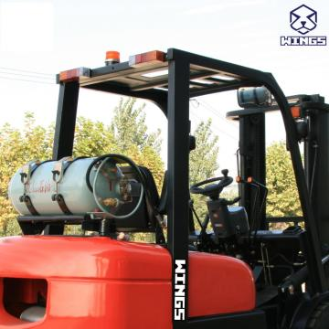3.5 T Gasoline&LPG Forklift 5m Lifting Height