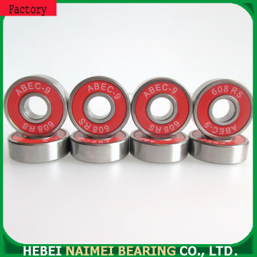 Roller skate bearings 608-2RS for longboards