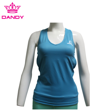 Girls strap training tank top