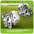 Promotion Shape Assemable Animal Extruded Eraser with Moveable leg