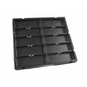 optical electronic protection plastic blister tray divider