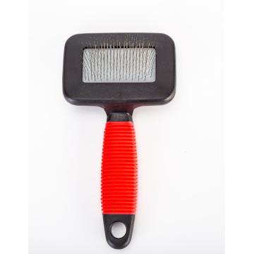 Percell Small T-Shape Stainless Steel Slicker Brush