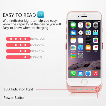 10000mAH Phone Battery Case For iPhone 6 6s 7 8 Power Bank Charging Case Cover For iPhone 6 6s 7 8Plus Battery Charger Case