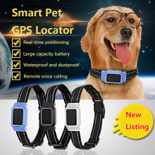 1pc Locator Real Time Pet GPS Tracker For Pet Dog Cat GPS Collar Tracking Mascotas Pets Tracker Collar Outside Cocina Garden