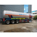 3 Axles 58000L Propane Transport Semi-trailers